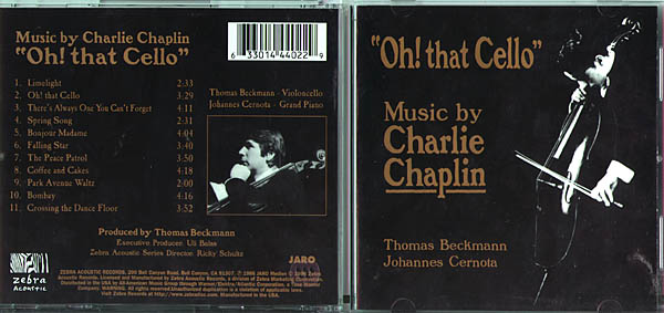 Oh That Cello Music By Charlie Chaplin