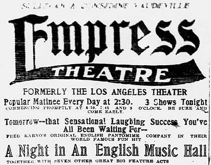 june 25 1911 a night in an english music hall