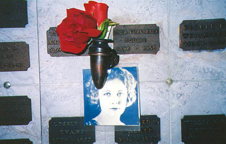 Edna Purviance at Grand View Cemetery