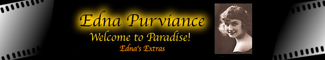 Edna Purviance Welcome to Paradise