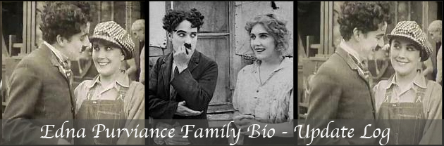 Edna Purviance Family Biography